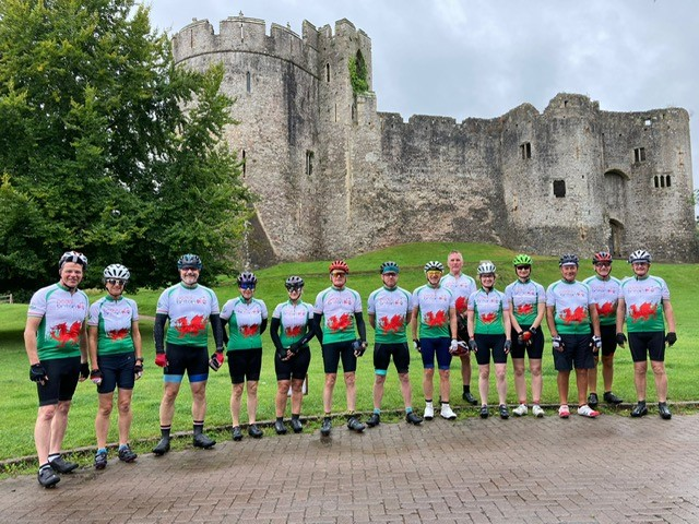 John and Clare take on 200+ mile end to end Wales bike ride!